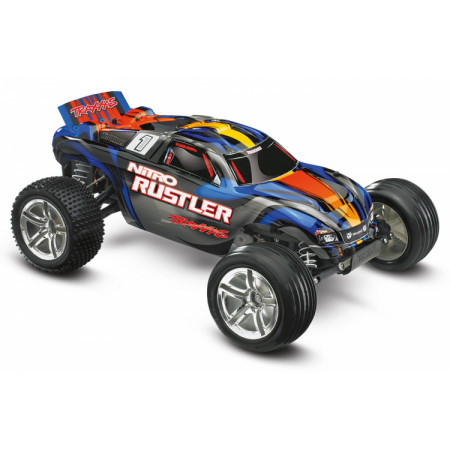 Nitro Rustler TRX2.5 RTR TQi TSM Blå