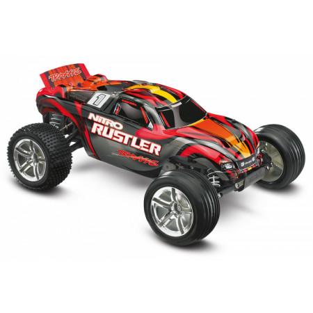 Nitro Rustler TRX2.5 RTR TQi TSM Röd