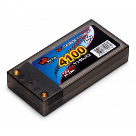 Li-Po Batteri 2S 7,6V 4100mAh 60C LCG Short EFRA2020