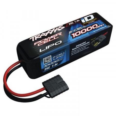 Traxxas Li-Po Batteri 2S 7.4V 10000mAh 25C iD-kontakt
