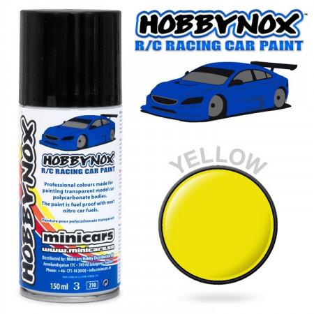 Gul R/C Racing Car Spray Färg 150 ml