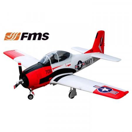 FMS T-28D 1420 PNP EPO Röd