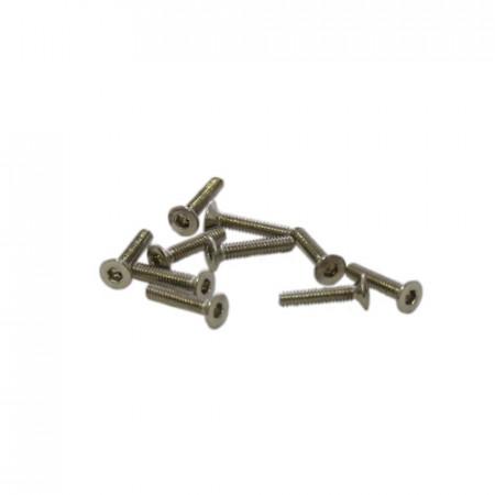 M2x10mm FLAT HEAD SCREWS (10pcs.)