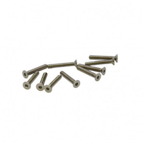 M2x16mm FLAT HEAD SCREWS (10pcs.)