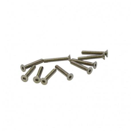 M2,5x16mm FLAT HEAD SCREWS (10pcs.)