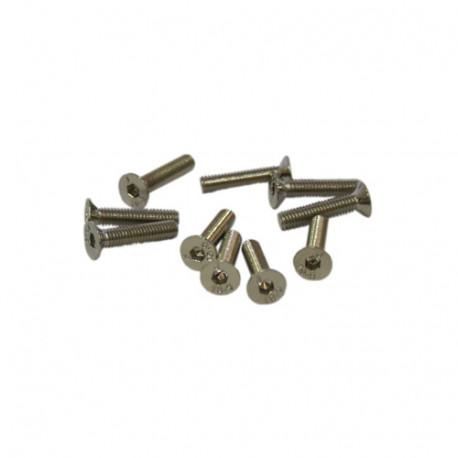 M3x16mm FLAT HEAD SCREWS (10pcs.)