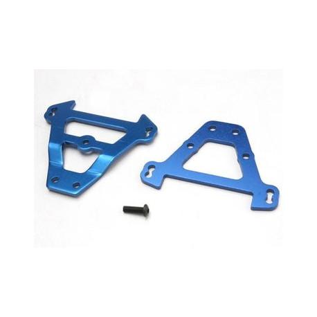 Tvärplåt Fram & Bak Aluminium Blå
