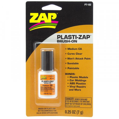 Plasti-ZAP 1/4oz 7gr Brush-On