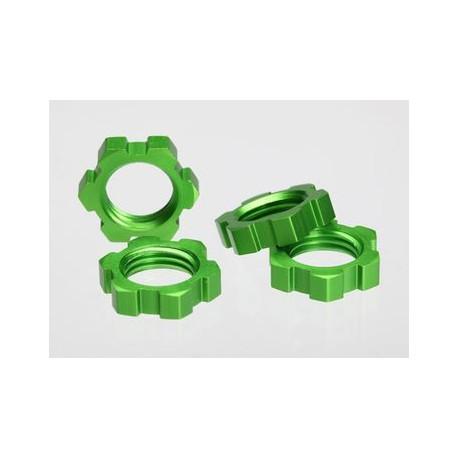 Hjulmutter 17mm Grön (4)