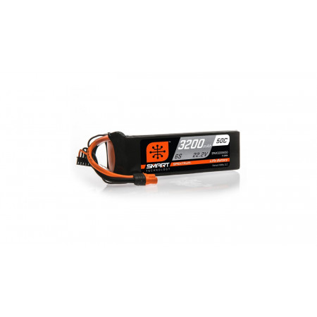 22.2V 3200mAh 6S 50C Smart LiPo Battery: IC3