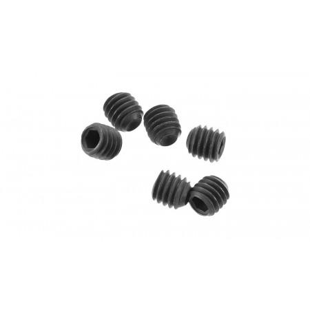 Set Screw M4x4mm, Black Oxide (6)