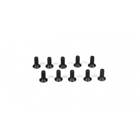 Flathead Screws, M3 x 8mm (10)