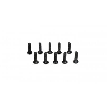 Button Head Screws, M3 x 12mm (10)