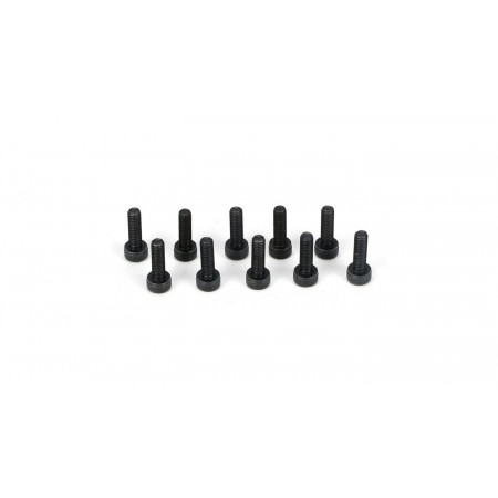 Cap Head Screws, M3 x 10mm (10)