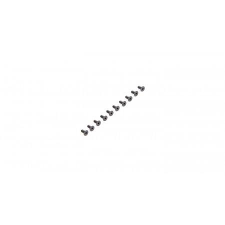 Flat Head Screws M2.5 x 5mm (10)