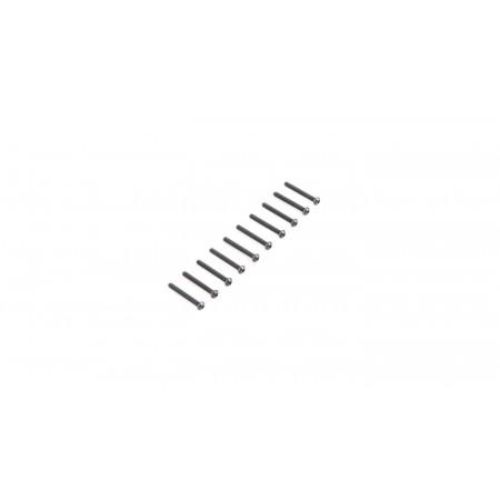 Button Head Screws M2.5x 20mm (10)