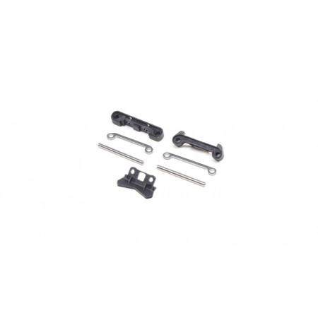 Rear Pivots & Bumper: Mini-T 2.0