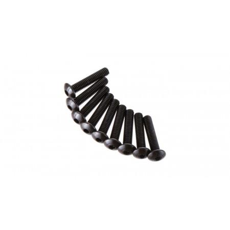 Hex Socket Button Head 2.6x12mm (10)