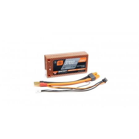 7.4V 3700mAh 2S 100C Smart Race Shorty Hardcase LiPo Battery: Tubes, 5mm
