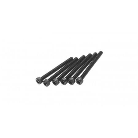 Cap Head M2.6x25mm, Black (6)