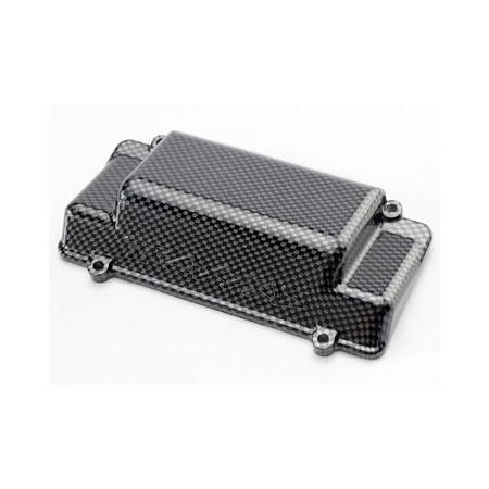 Traxxas 5515G Batterilåda/ Stötfångare Bak Exo-Carbon