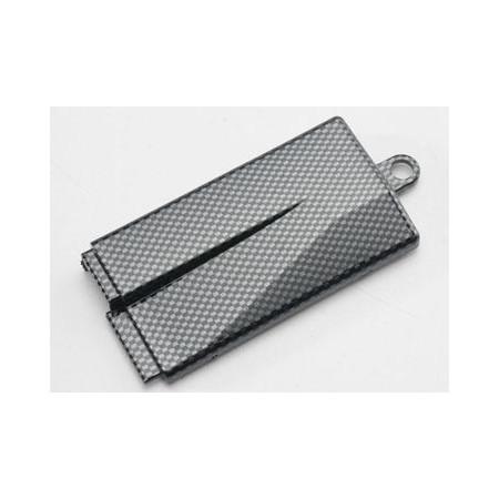 Traxxas 5523G Lock Batterilåda Exo-Carbon Jato