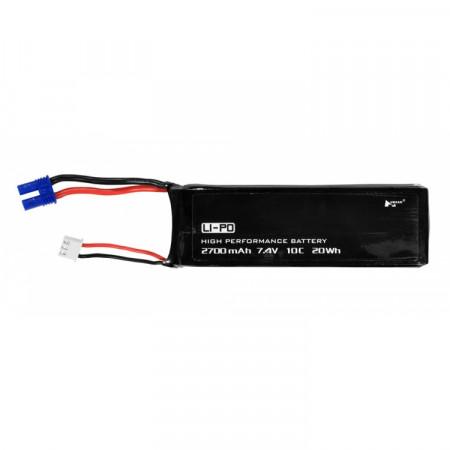 Li-Po Batteri 2S 7,4V 2700mAh 10C H501A,H501M,H501S,H501C
