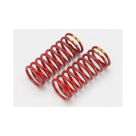 Stötdämparfjädrar GTR (Lång) Röd (4.9 Gul) (2)