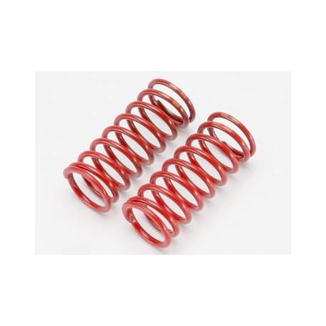 Stötdämparfjädrar GTR (Lång) Röd (4.9 Orange) (2)