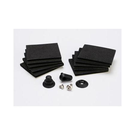 Traxxas 5723 Foam-Plattor/ Huvstolpe (Set)