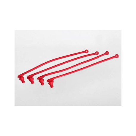 Karossklipshållare röd (4)
