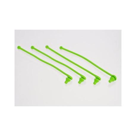 Karossklipshållare grön (4)