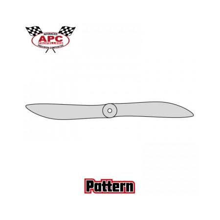 Propeller 15x8 Pattern