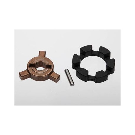 Cush drive key/ pin/ elastomer damper