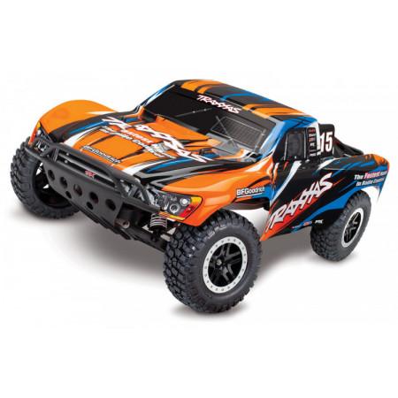Slash VXL 2WD 1:10 RTR 2.4G TSM utan Batt & Laddare Orange