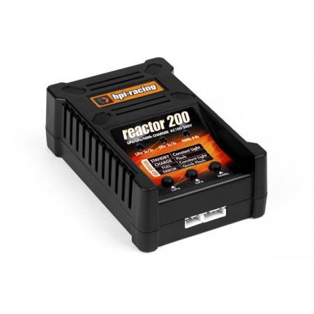 HPI REACTOR 200 Laddare 2-3S lipo - 4-8cell NiMh/NiCd
