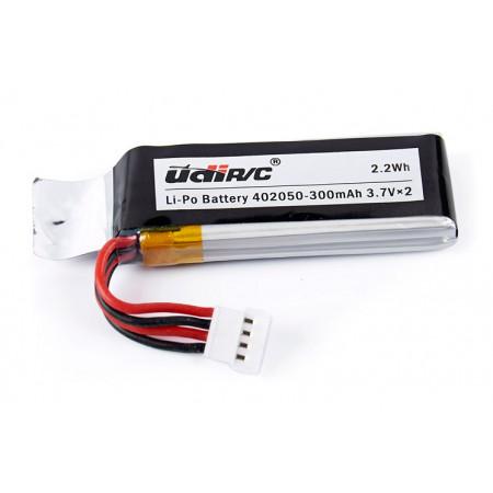 Batteri Li-Po 3,7v 300mAh U28