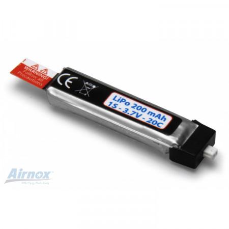 Li-Po Batteri 1S 3,7V 200mAh Airnox