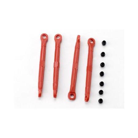 Traxxas 7038 Toe-links plast röd 4st