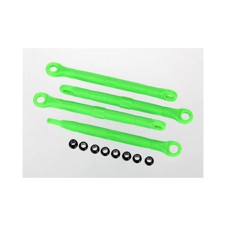Traxxas 7038A Toe-links plast gröna 4st