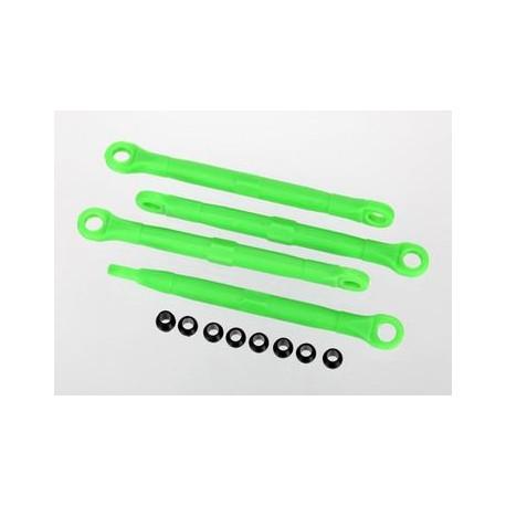 Toe-links plast gröna 4st