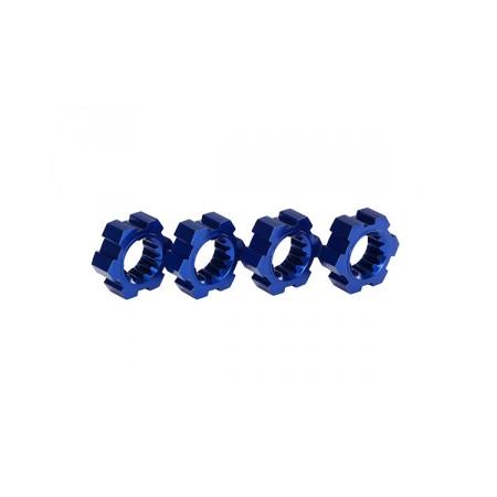 Fälgnav Blå Aluminium (4)