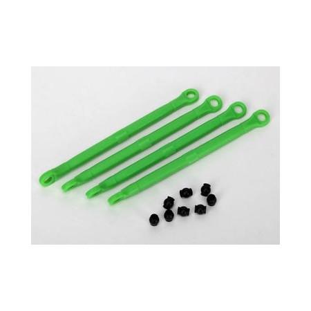Toe link plast grön 4st