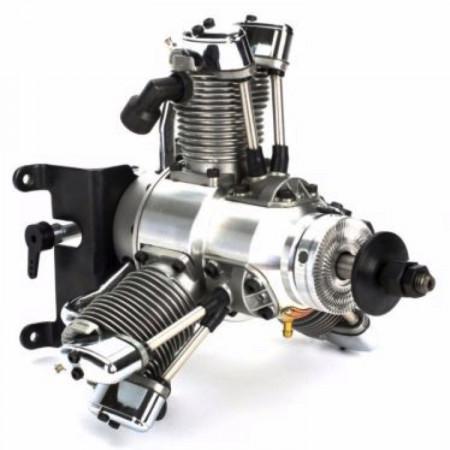 Saito FG-33R3 33cc 4-takts 3-cyl Stjärnmotor Bensin