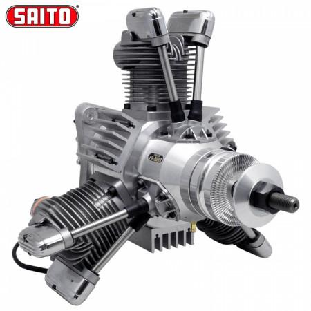 Saito FG-90R3 90cc 4-takts 3-cyl Stjärnmotor Bensin