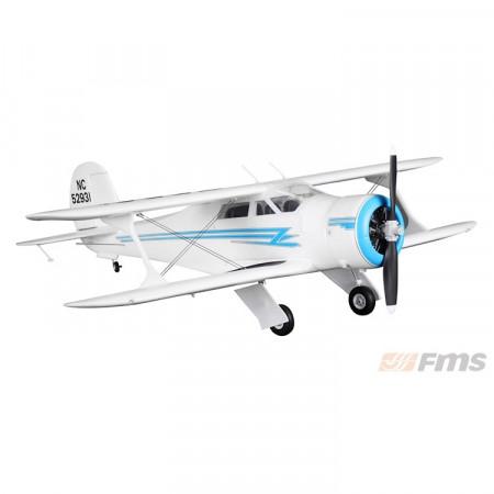 FMS Beechcraft 1030mm PNP Vit