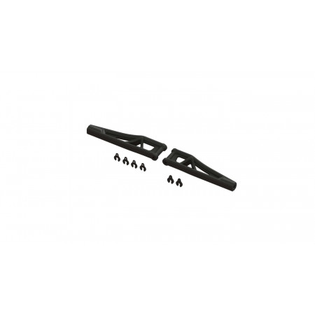 Front Upper Suspension Arms, 120mm (1 Pair)