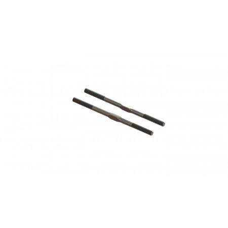 Steel Turnbuckle, M5x89mm Silver (2)