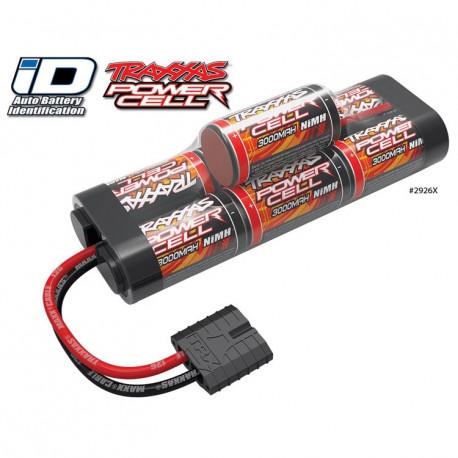 Traxxas NiMH Batteri 8,4V 3000mAh Hump iD-kontakt