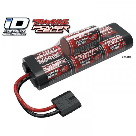 Traxxas NiMH Batteri 8,4V 3300mAh Series 3 Hump iD-kontakt